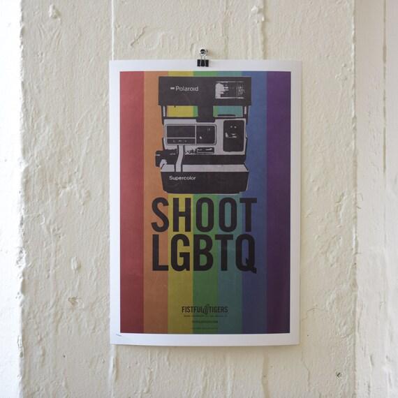 13X19 PRINT / SHOOT LGBTQ