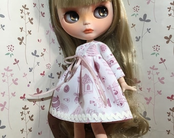 Printed for your Blythe doll dress