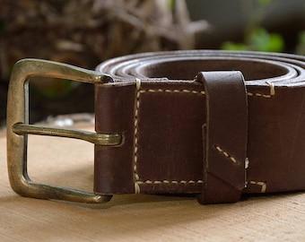 Belt For Men, Leather Belt, Brown, Leather Belt, Mens Leather Belt, Vintage Belt, Vintage Leather Belt, Vintage Leather Belt