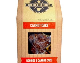 Carrot Cake (Rooibos Tea) x15 Teabags