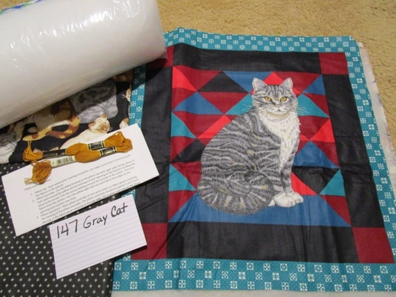 Gray Cay - Pillow Quilt Kit