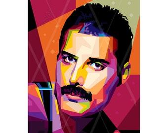 Freddie Mercury Etsy