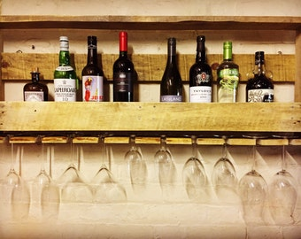 Wine/Spirit bottle rack