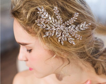Crystal Bridal Comb Hair Clip Accessory Wedding Hairpiece