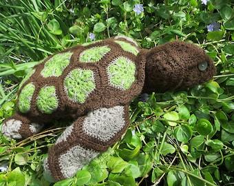 Amigurumi Crochet Turtle, Stuffed Toy
