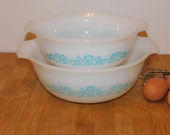 """Vintage """"Maid Of Honor"""" Mixing  bowls SHIPPING INCLUDED"""