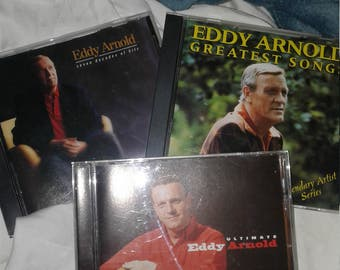 3 Just Like New Eddy Arnold CD's~ Ships FAST & FREE!