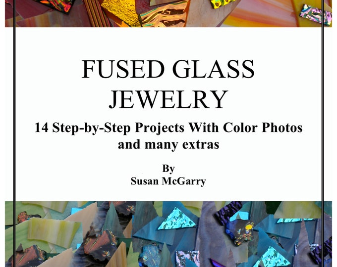Fused Glass Jewelry Book (CD)