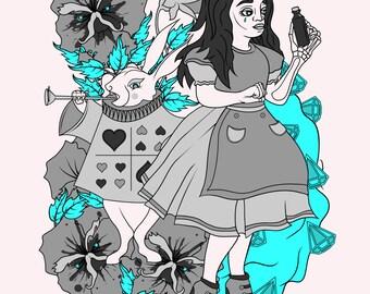 Alice in Wonderland (Alice & Mad Hatter Collection) [Digital Prints]