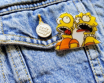 Simpsons TV Show Pin