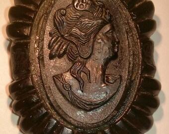 Victorian Black Mourning Brooch