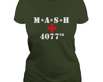 MASH 4077TH T-SHIRT,mash 4077th t-shirt,mash television series,mash shirts,mash army shirts,mash 4077th fans gift t-shirt,mash hospital