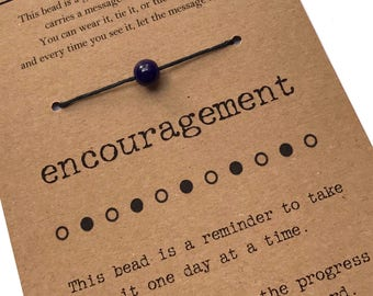 ENCOURAGEMENT Bracelet - Inspirational Gift