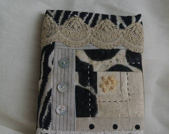 A6 Quilted Book Cover