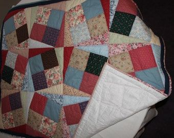 Crooked Square Quilt