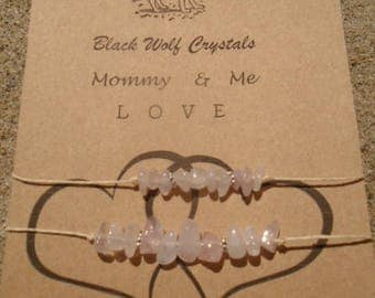 Love Mommy & Me Two Bracelet Set