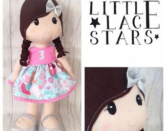 Handmade Doll, Soft doll, soft bodied doll, birthday doll, large plush doll, large doll, large rag doll, nursery decor