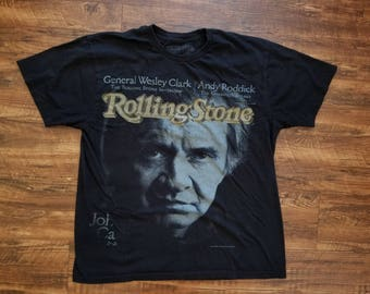Johnny Cash R.I.P Rolling Stone cover T-Shirt