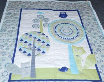 Hand Made Baby Blanket.