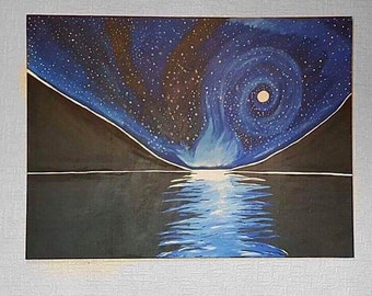 Canvas - Valley of Stars by Rachael Rose