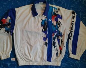 Vintage YONEX Full Colour/Fully Zipper/Embroidered Logo/Sport Jacket