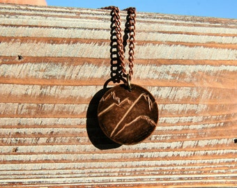 Mountain Layers Necklace