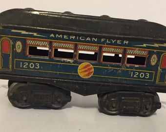 American Flyer passenger car