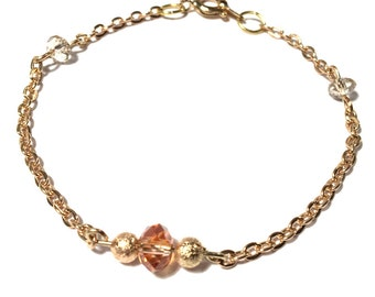 Gold Apple bracelet
