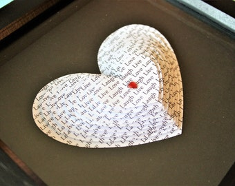 Personalised Hearts - Valentine's Day, Anniversary