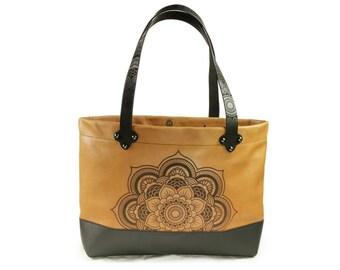 Full Grain Australian Leather tote bag - Prem