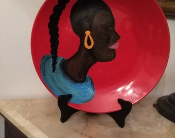 The Nina Rae Collection Ceramic Plate