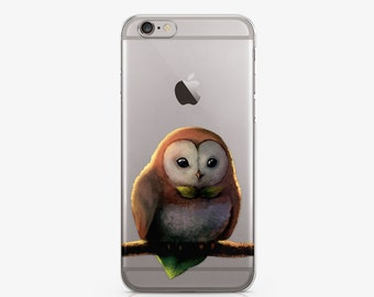 Cute Owl Case iPhone 8 Plus Case iPhone 7 Plus iPhone 8 Case Animal Samsung Note 5 Case Samsung S6 Case Galaxy S7 Cover Google Pixel AC1016
