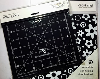 Cute Reversible Self-healing Doubled-sided Grid Craft Mat 6x6