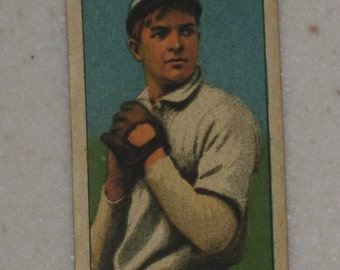 1909/10 T206 Christy Mathewson Autographed Back
