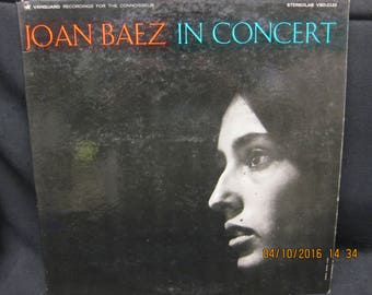 Joan Baez in Concert - Vanguard Records