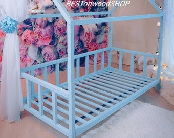 160×90,80,70cm,toddler bed,nursery wood house,frame bed,original bed,home bed,montessori bed,Kids' Furniture,montessori nursery,kid bed