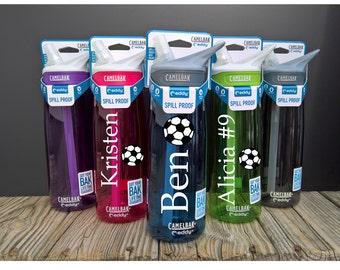 Soccer Water Bottle ~ Soccer Bottle ~ Custom Soccer Bottle ~ Soccer Water Bottles ~ Camelbak Bottle ~ Custom Camelbak ~ Soccer Camelbak