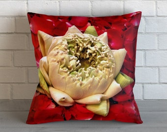 Floating Lotus Pillow