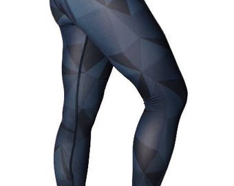 Black GEO Yoga Leggings