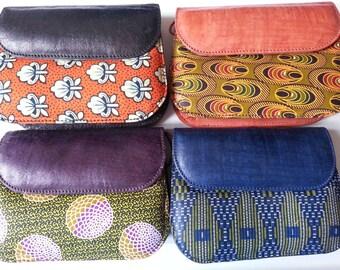 Sac Wax African Prints Purse