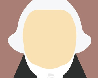 Minimalist George Washington
