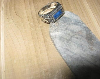 Sterling silver lapis ring Carolyn Pollack
