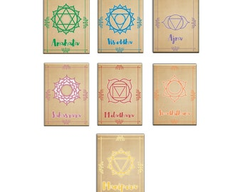Chakra Pack of 7 Magnets