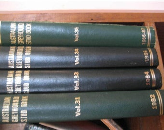 AUSTRALIAN GREYHOUND studbooks