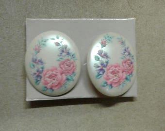 Vintage Floral Earings