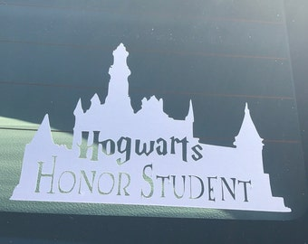Harry Potter inspired car decal