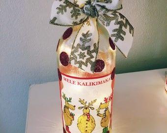 Mele Kalikimaka Bottle
