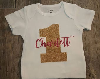 Birthday Boy, Birthday Girl,  Onesie, Bodysuit or Tee ... Can Customize Any Way You Like!