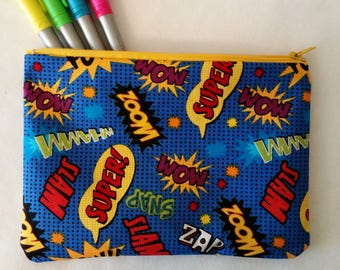 Choose Size: Comic Onomatopoeia Bag