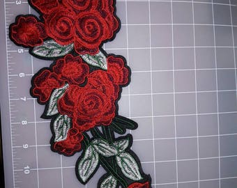 Beatiful Embroider Aplique Iron on it or sew